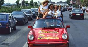 Cabrios im Sommer sehr beliebt