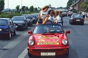 Cabrios im Sommer