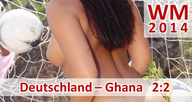 Fußball-WM 2014: Deutschland – Ghana 2:2 (0:0) Remis für Deutschland nach Krimi gegen Ghana