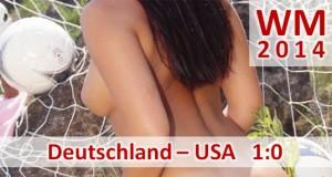Fußball-WM 2014: Deutschland – USA 1:0 (0:0) Deutschland Gruppensieger nach Regenduell gegen USA