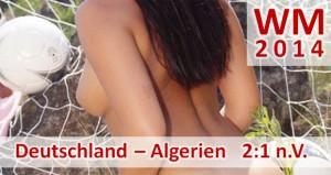 WM 2014: Deutschland - Algerien