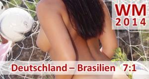 Fußball-WM 2014: Deutschland – Brasilien 7:1 (5:0) Deutschland nach unfassbarem Sieg im Finale