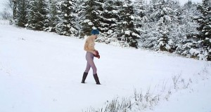 Wie geht Outdoor-Sex im Winter?