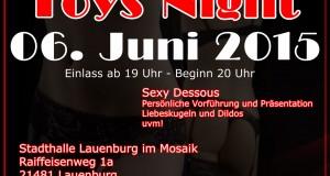 Toys Night in Lauenburg – Die Party für Sexspielzeug