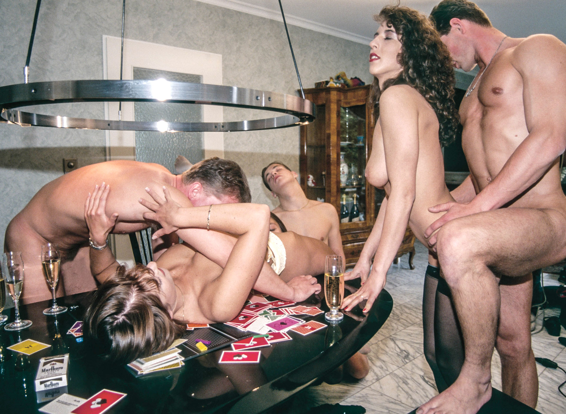 Erotische Parties