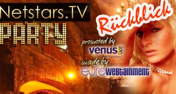 Die NetStars.tv Party – Stars zum anfassen!
