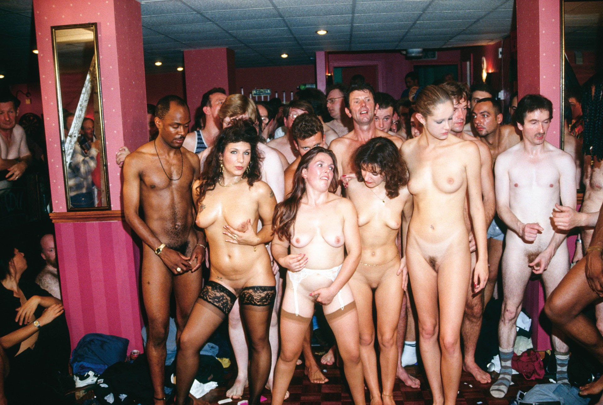 Young sex parties christmas prefucking party